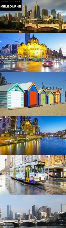 5 things not to miss in Melbourne