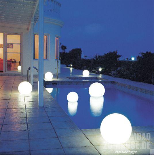 Inspirational Moonlight Wasserkugeln Leuchten