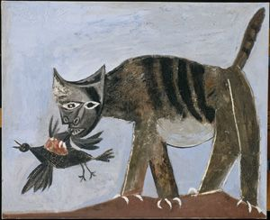 Picasso - Cat Catching a Bird
