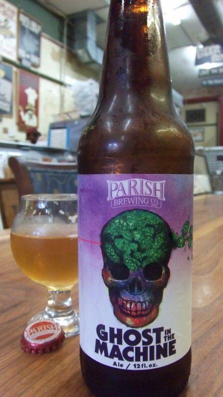 Parish Ghost in the Machine | Cerveja, Cervejas artesanais ...