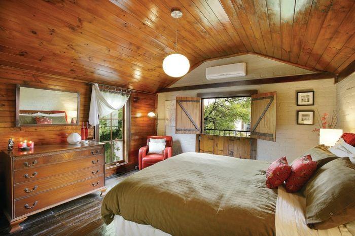 25 romantische Schlafzimmer Einrichtungen im Landhausstil - romantische schlafzimmer landhausstil