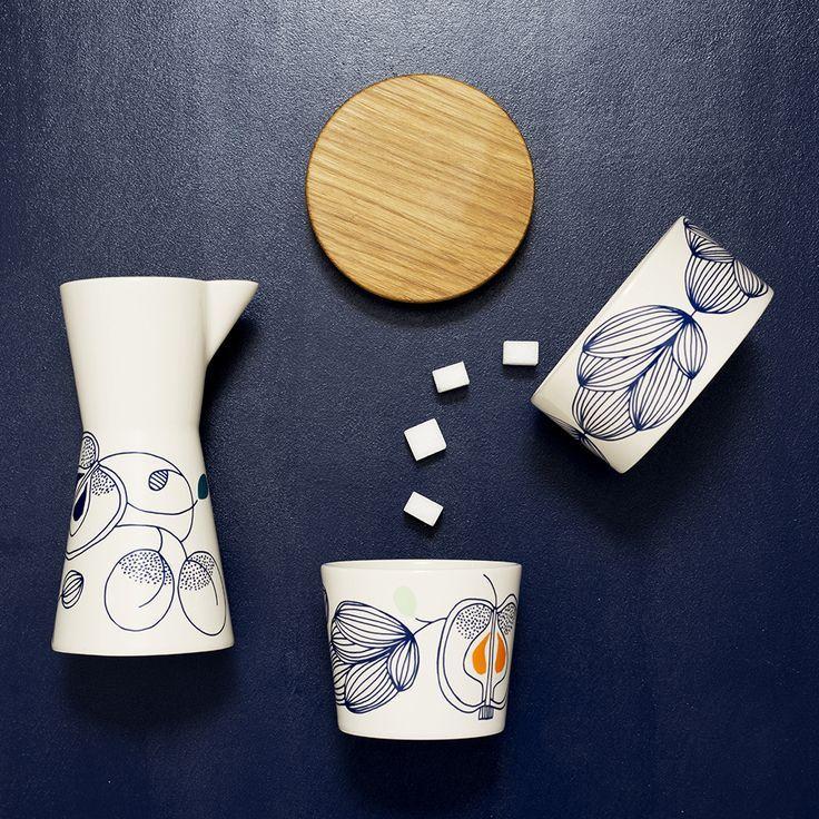 new Scandinavian ceramic collection, POME-POME, by Malene Helbak + Nygårds Maria