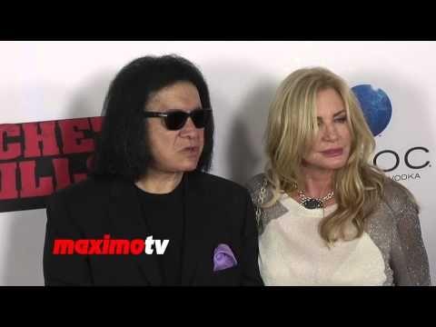 "Gene Simmons and Shannon Tweed ""Machete Kills"" Los Angeles Premiere Red ..."