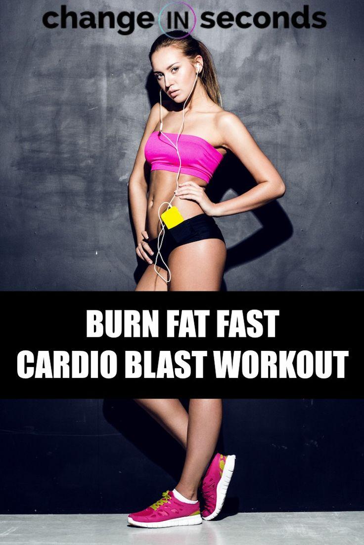Burn Fat Fast Cardio Blast Workout (Download PDF)