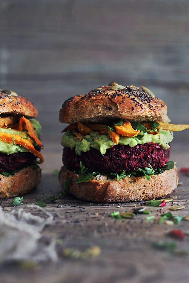 This is the ultimate veggie burger made with quinoa & beets!
