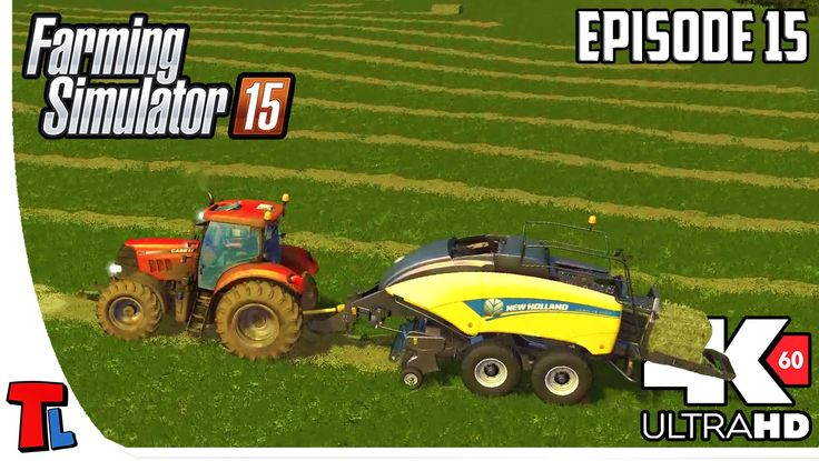 New Bale Wrapper | 4K 60fps | Let's Play Farming Simulator 2015 | Gamepl...