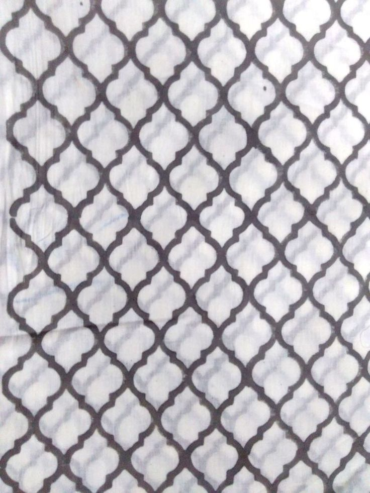 "5 yard Loose Fabric Handmade 100% Cotton""Hand Block"" Sanganeri Print Fabric CSI #Handmade"