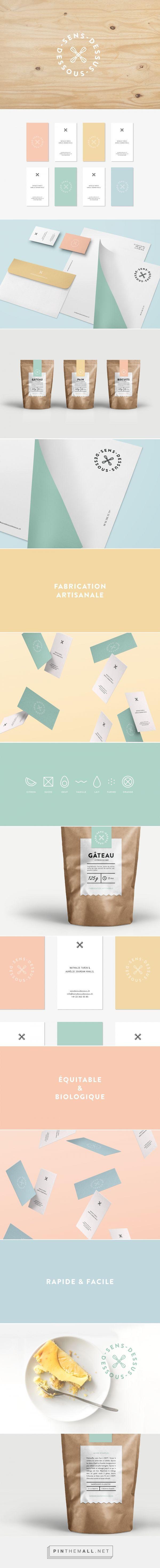 Sens-dessus-dessous on Behance   Fivestar Branding – Design and Branding Agency & Inspiration Gallery