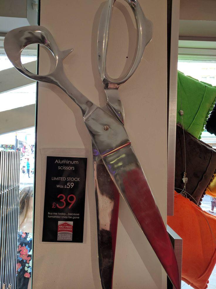 MCG SPECIAL PURCHASE Aluminum Scissors - 14 North Street