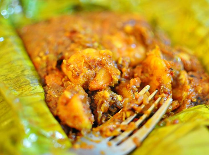 33 best kerala seafood chaakara images on pinterest indian food chemmeenprawn pollichathu forumfinder Image collections