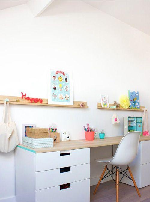 creative children's workspaces || thrifty littles blog