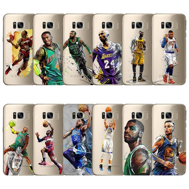 basketball star phone cover shell Lebron james harden Stephen Curry Kobe soft cases for Samsung s6 s7 edge s8 plus note 8 4 5 A7