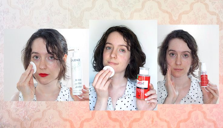 I Tried A French Beauty Routine, .... And I have a newfound love of rouge lipstick.