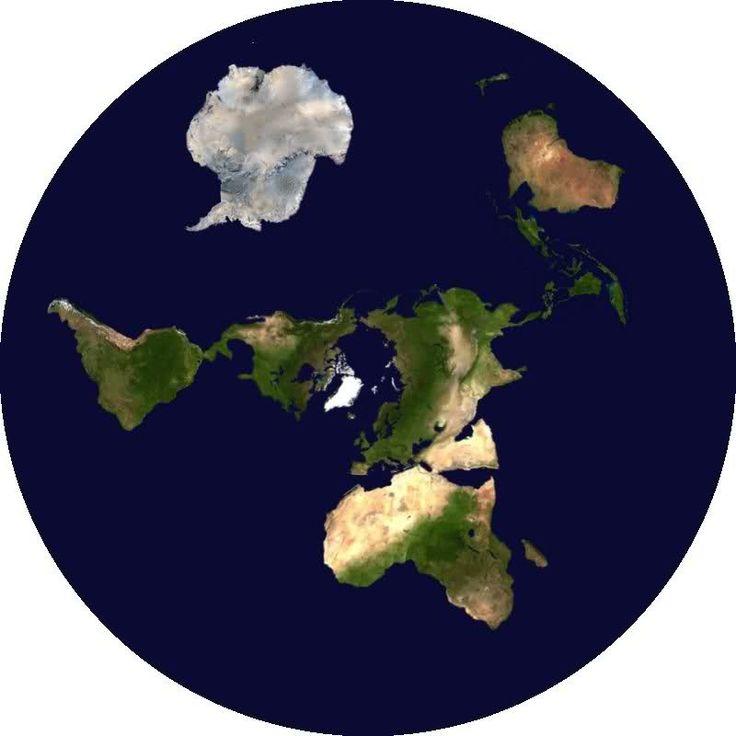 Flat Earth Invitation Map Location Map Maps
