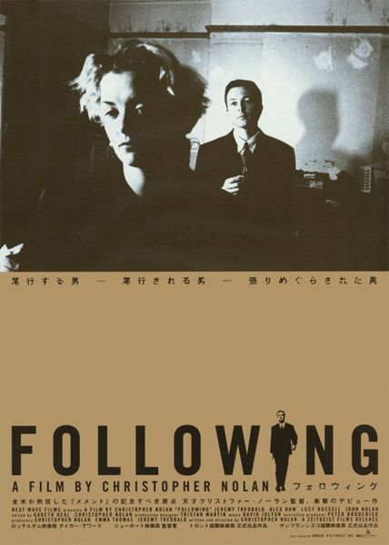 Reseña cine: Following (Christopher Nolan, Reino Unido, 1998)