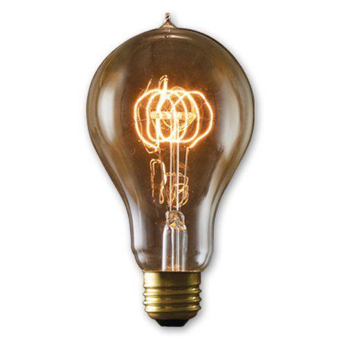 Bulbrite Victorian Loop Filament A23 Incandescent Edison Light Bulb - 4 pk. - BULB520