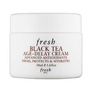Shop Fresh's Black Tea Age Delay Cream at Sephora. This age-delay face cream is proven to visibly reduce the appearance of fine lines and firm the skin.