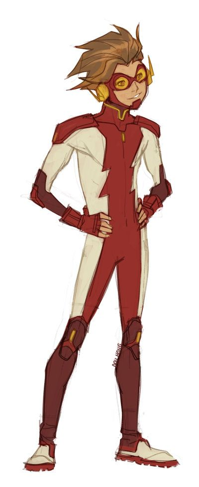 Young Justice Concepts: Impulse by dou-hong