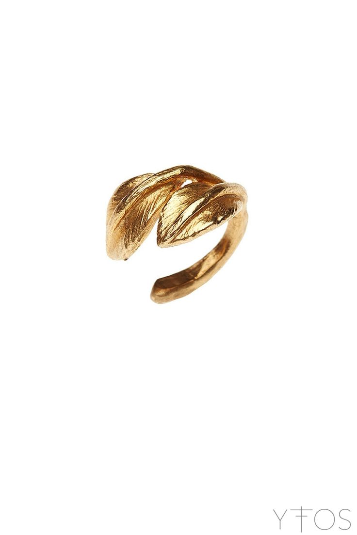 'Poem' Gold Plated Ear Cuf
