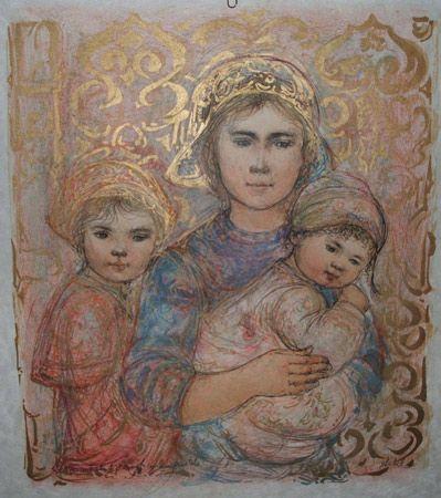 Edna Hibel Art for Sale