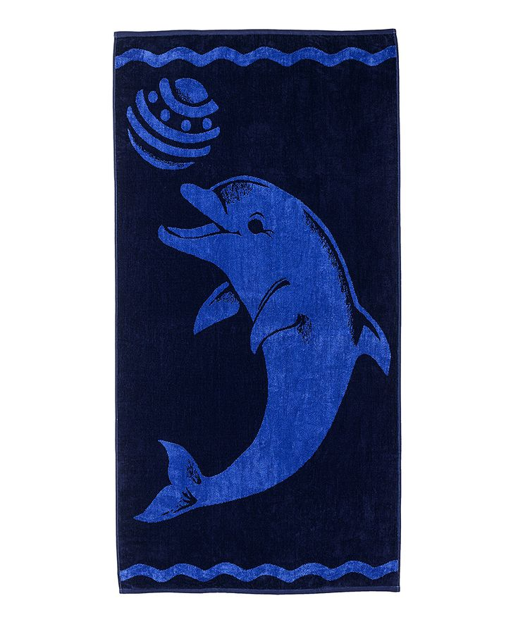 Playing Dolphin Oversize Beach Towel