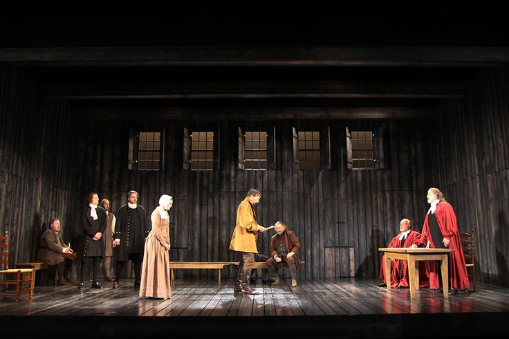 The Crucible. Indiana Repertory Theatre. Scenic design by Lee Savage. 2013