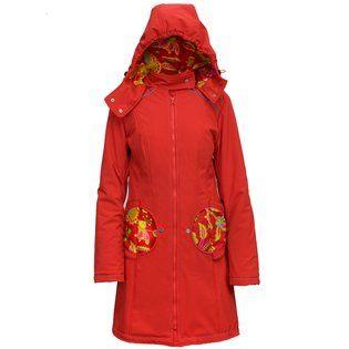 Liliputi® Mama coat Floral Garden #liliputi #babywearing #mamacoat