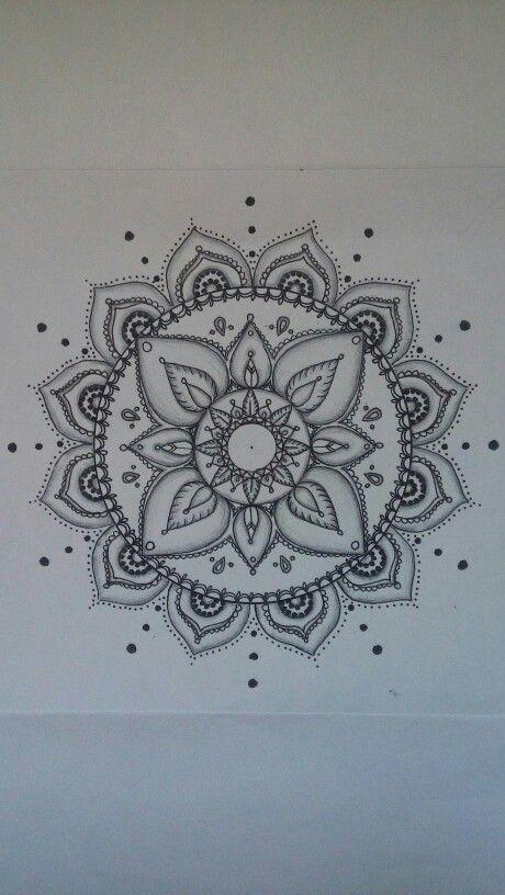 Tatoo idea mandala, create by me