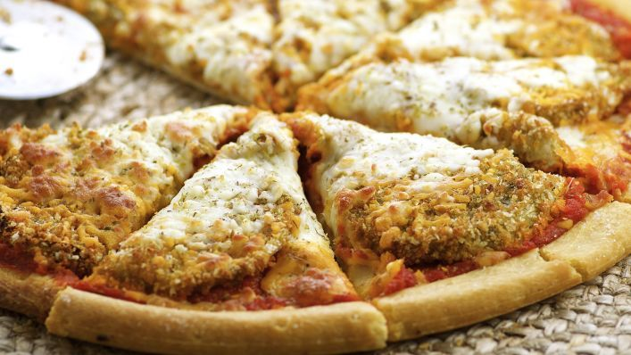 Eggplant Aubergine) Parmesan Pizza Recipe - Genius Kitchen