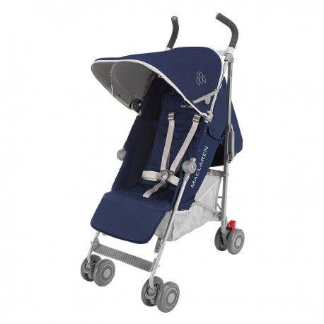 La silla paseo Techno XT de Maclaren, es una sillita de segunda edad con un aire deportivo muy confortable para el niño y con reclinado total! Destaca por su estilo, sus características y por su seguridad.