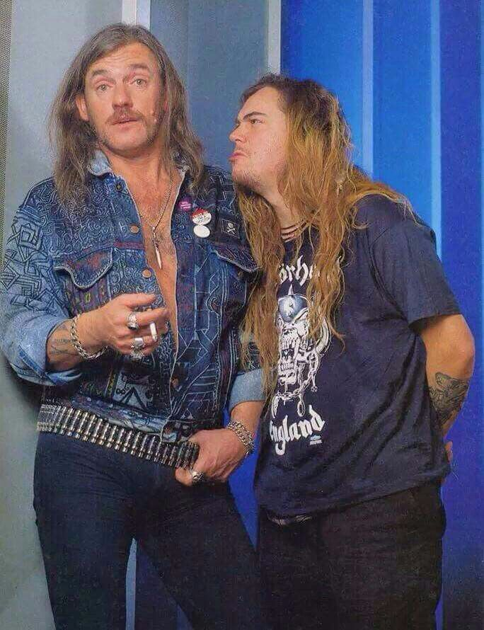Lemmy Kilmister & Max Cavalera