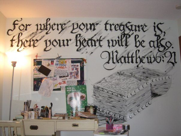If my boys ever do a pirate room I would love to paint this on the wall!