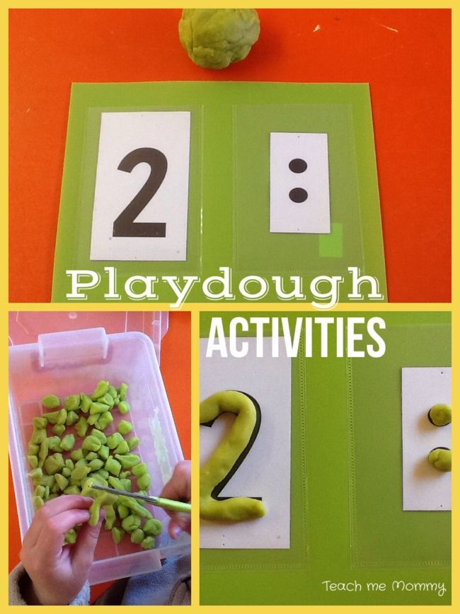Our Week: People Who Help Us Theme 1- Playdough Activities