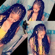 Tribal braids curly #tribalBraids #goddessbraids goddess braids #Braids #c   – Protective styles