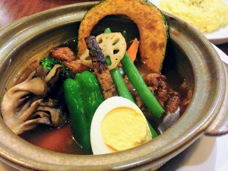 傾奇-KABUKI-【札幌大通】◆今日まで!SNS投稿でスープカレーが半額!