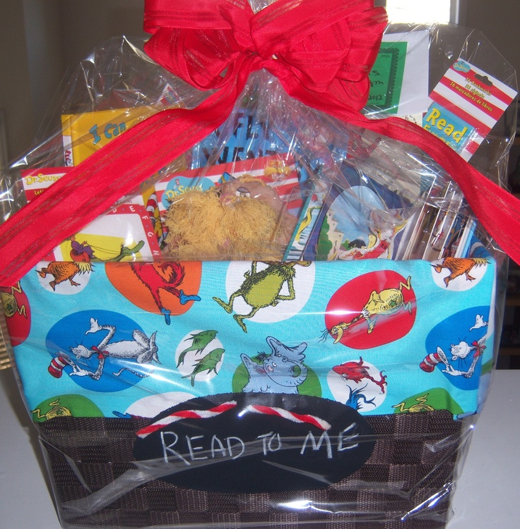 The 387 best 2018 falcon fest images on pinterest layette dr seuss read to me auction basket for the kids school negle Image collections
