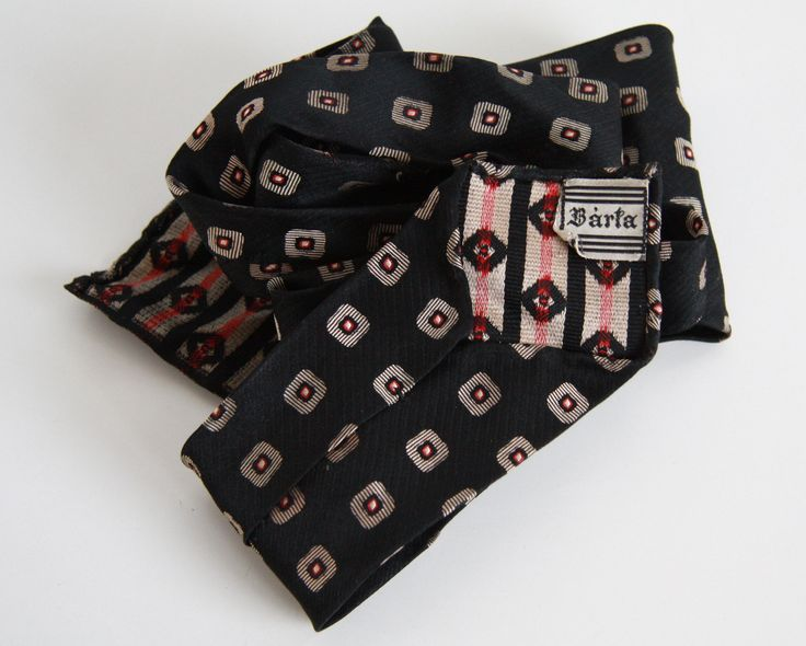 #vintagetie #brandBárta you can buy on http://www.salonmody.cz/en/home/22-mens-tie-brand-sulka.html