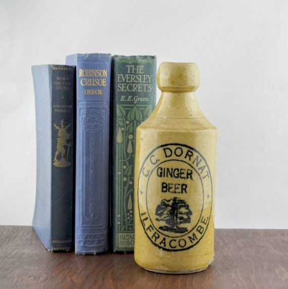 Antique Ginger Beer Bottle by C. C. Dornat  by LoAndCoVintage
