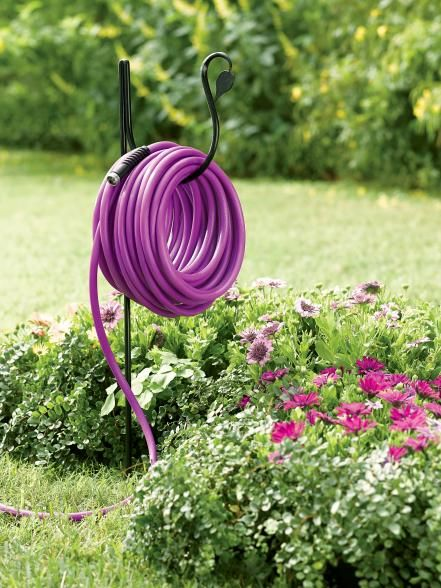 25 best ideas about garden hose storage on pinterest