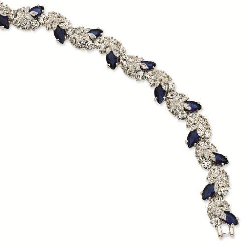 Silver-tone Swarovski Crystal Blue 7In with 1In ext Snowflake Bracelet - Jacqueline Kennedy Jewelry Jacqueline Kennedy Collection. Save 71 Off!. $127.00. Simply elegant. Each piece of Camrose & Kross Jewelry Includes an industry leading LIFETIME-WARRANTY. FREE Gift Box and Certificate of Authenticity with Every Order. Complimentary Romance Card with details on the Fascinating life of Jaqueline Kennedy. FREE-SHIPPING on all orders above $30