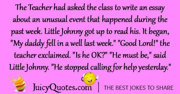Funny Little Johnny Joke -16