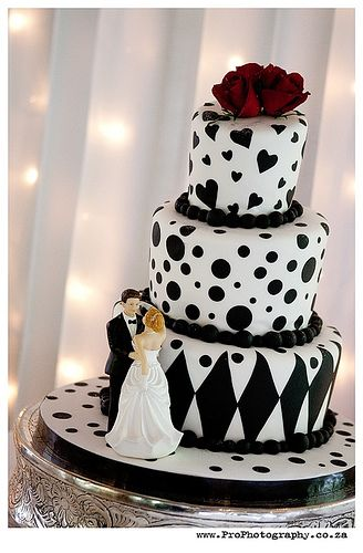 Charlene & Danie's Mad hatter wedding cake by Charly's Bakery, via Flickr