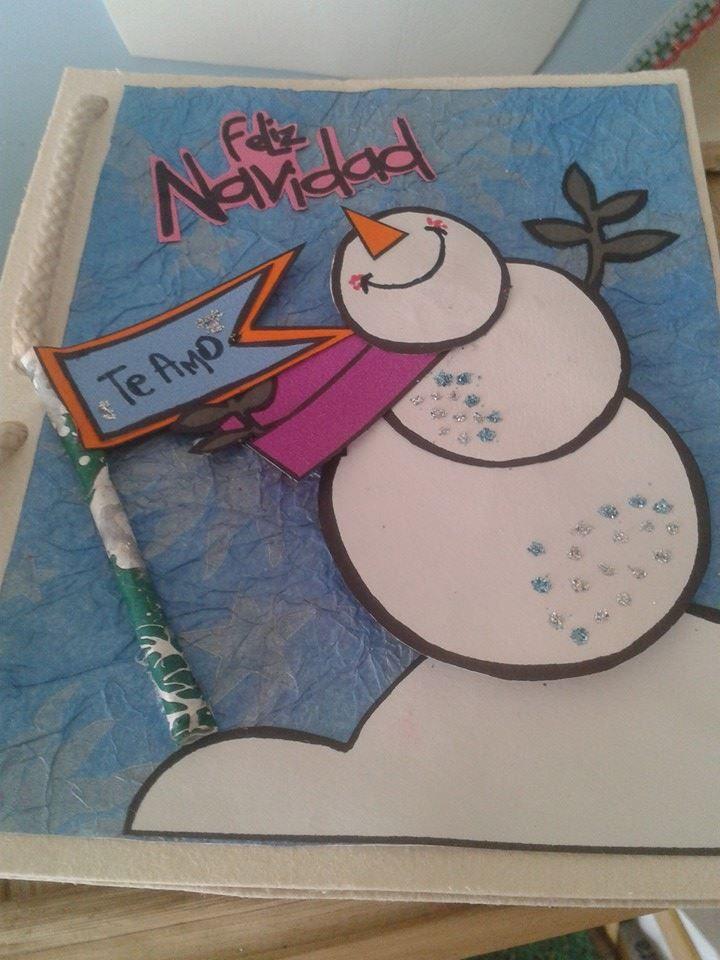 Muñeco de Nieve-Feliz Navidad