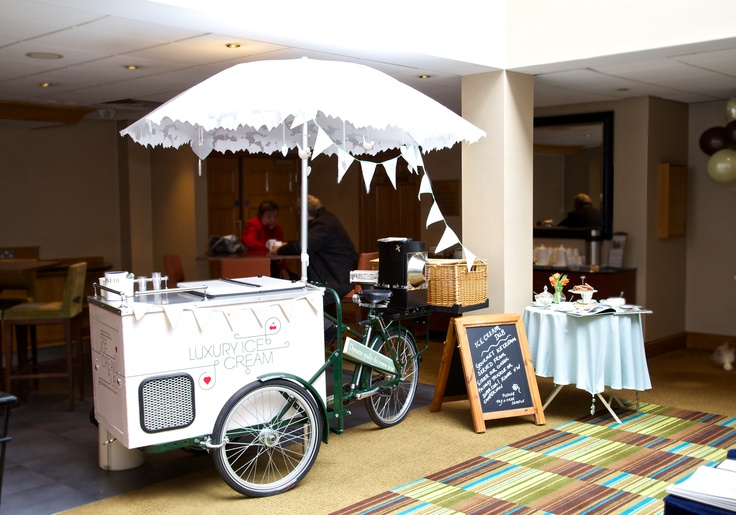 Make your big day even more memorable... surprise everyone with an ice cream tricycle!