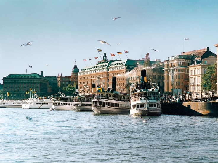 Grand Hôtel, Stockholm...one of my all-time favorites.  Great memories!