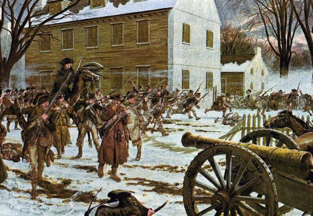 Crossing the Delaware: Battle of Trenton