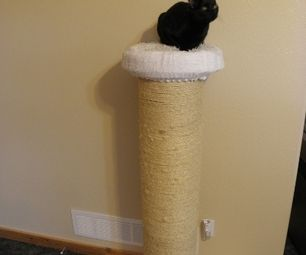 Best Cat Scratching Post Ever AND Cat Weight-loss Device by weiblen.c