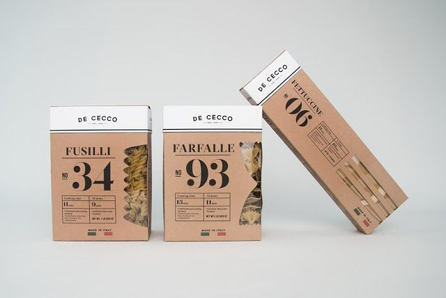 De Cecco Pasta (Student Project) on Packaging of the World - Creative Package Design Gallery
