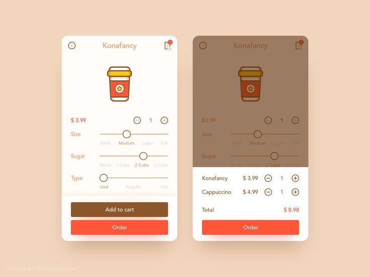 coffee order-Arucard