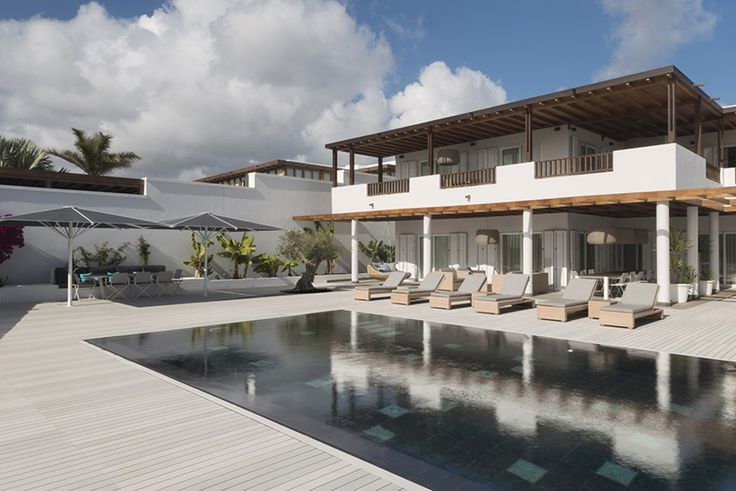 #architect Carlos Morales chooses Esthec #Terrace #Aroma for a villa in Lanzarote.